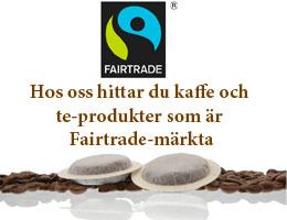Fairtrade coffee & tea