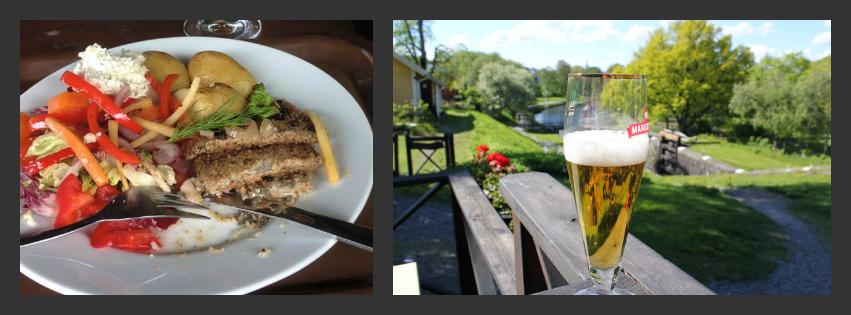 Pickled herring & beer